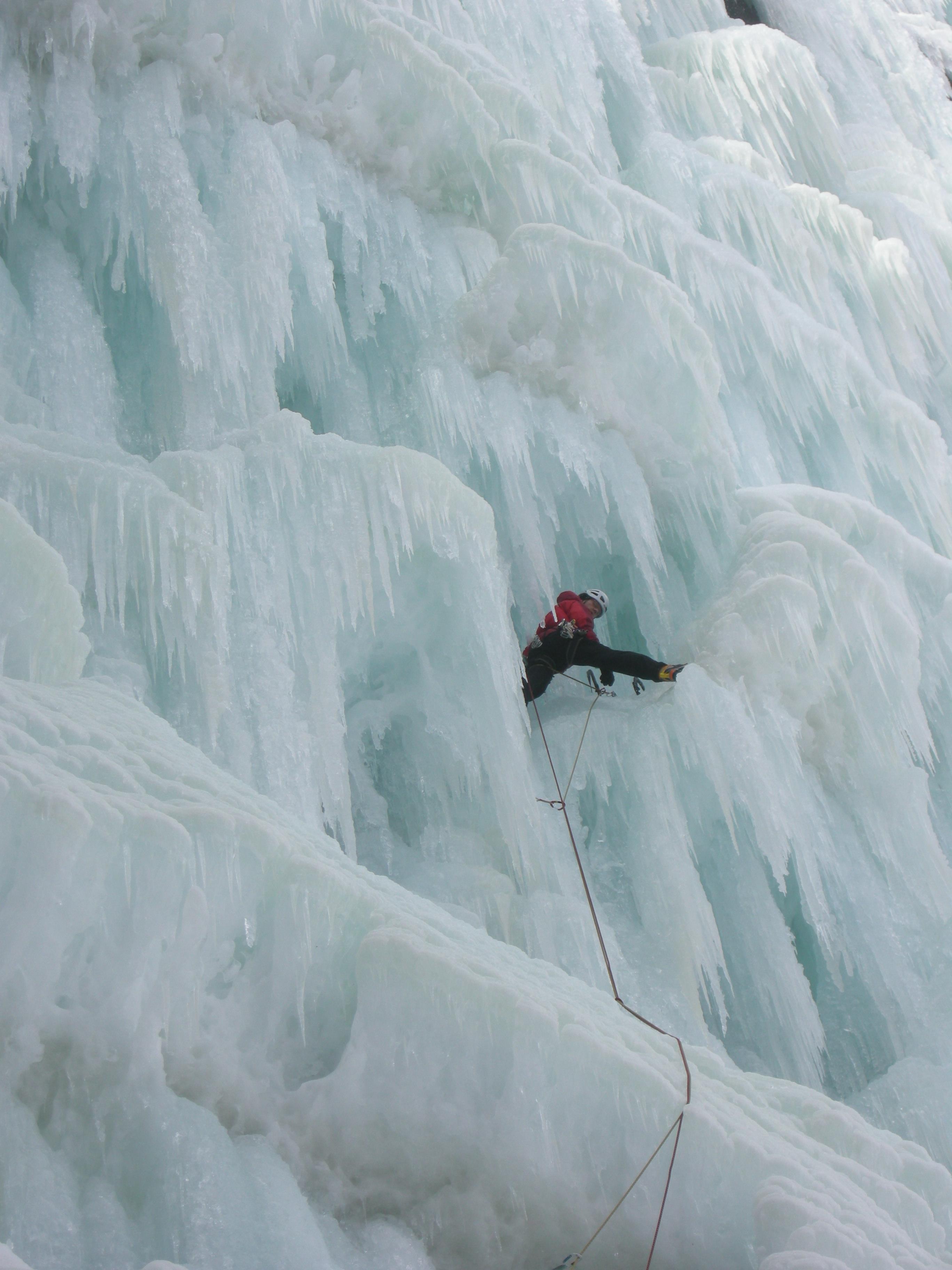 En fasinerende verden av is